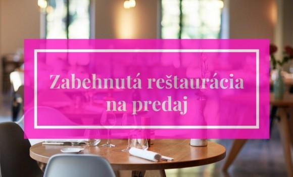 Zabehnutá reštaurácia na predaj